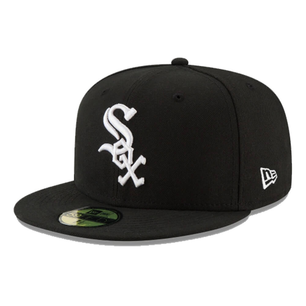 Boné New Era Aba Reta 5950 MLB Chicago Sox Game Cap