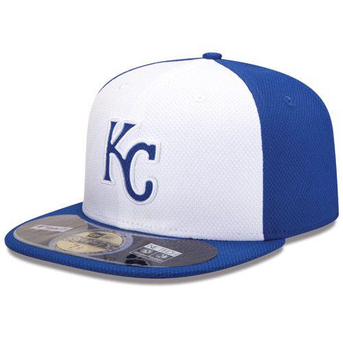 Boné New Era Aba Reta 5950 MLB Kansas Diamond Era
