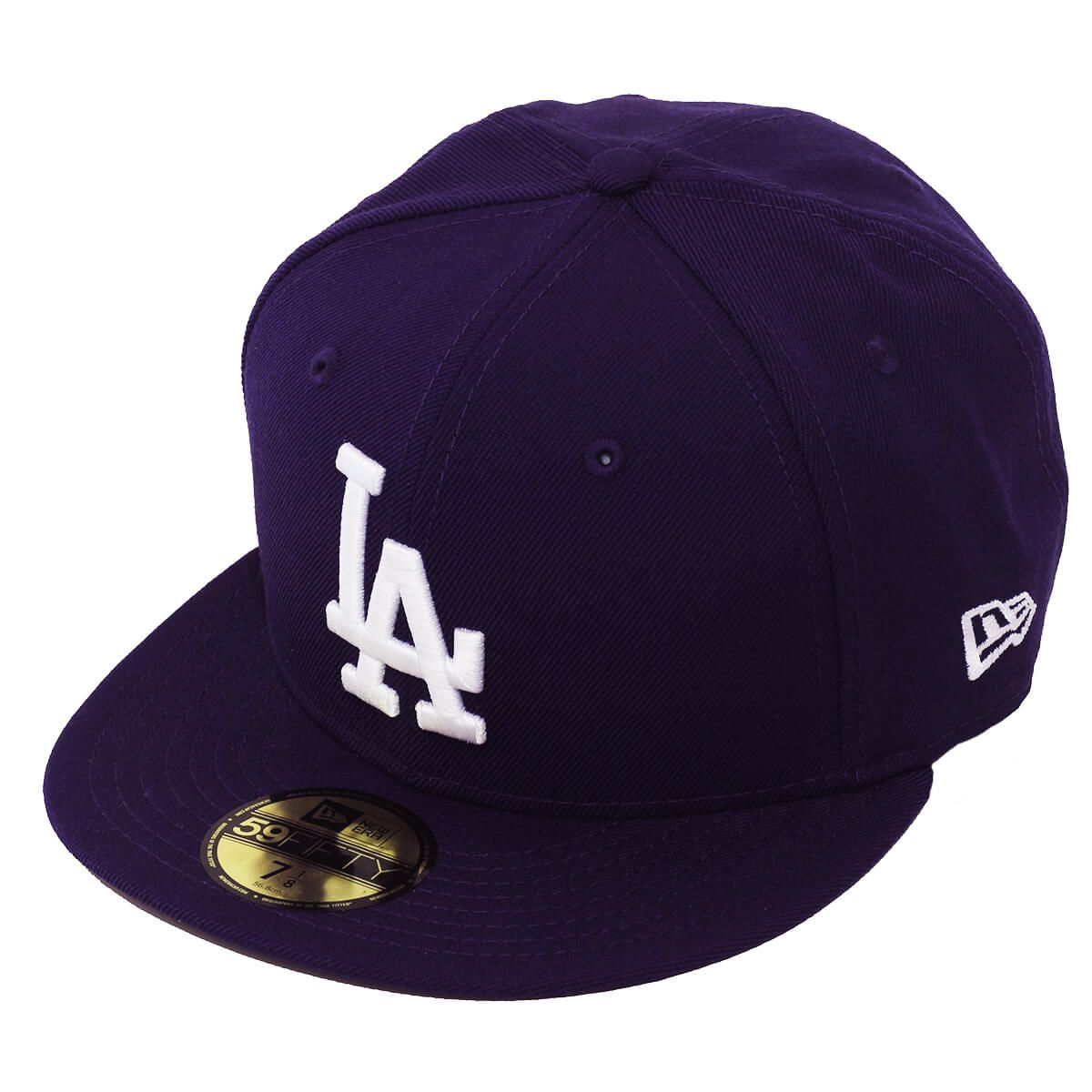 Boné New Era Aba Reta 5950 MLB Los Angeles Basic Colors Roxo