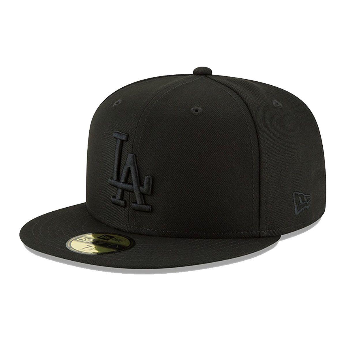 Boné New Era Aba Reta 5950 MLB Los Angeles Blackout