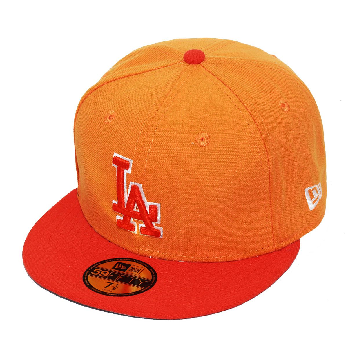 Boné New Era Aba Reta 5950 MLB Los Angeles Tint Basic Laranja