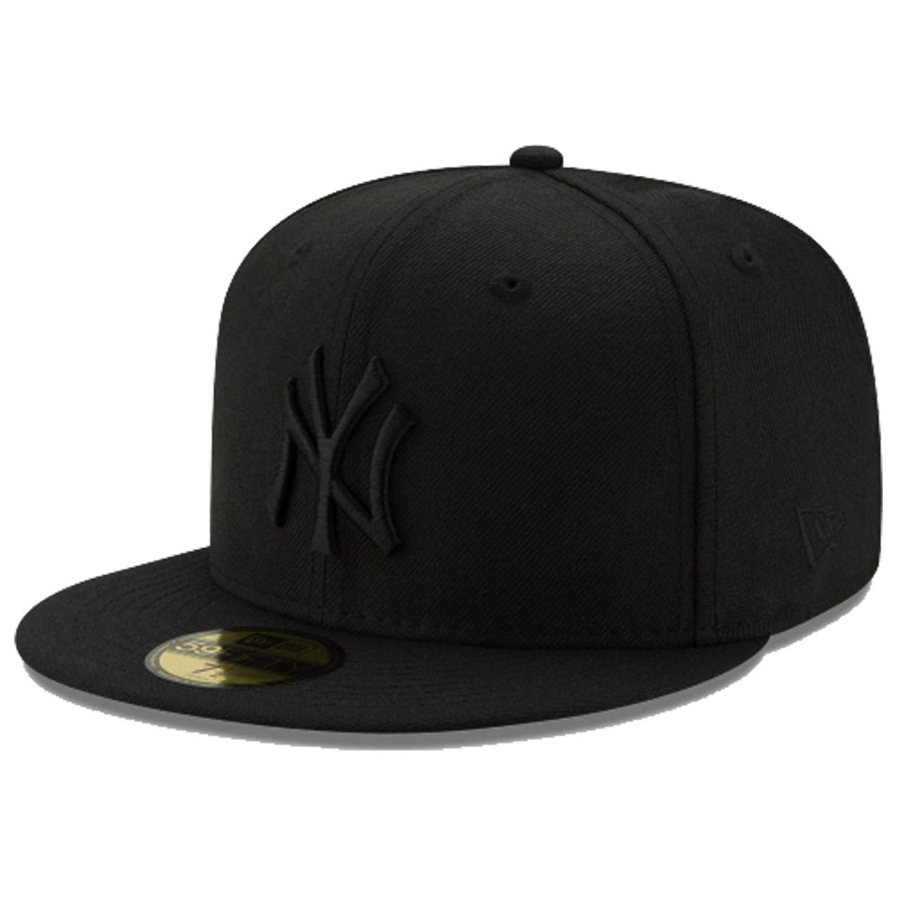 Boné New Era Aba Reta 5950 MLB NY Yankees Blackout