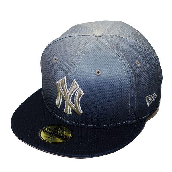 Boné New Era Aba Reta 5950 MLB NY Yankees Gradation Azul