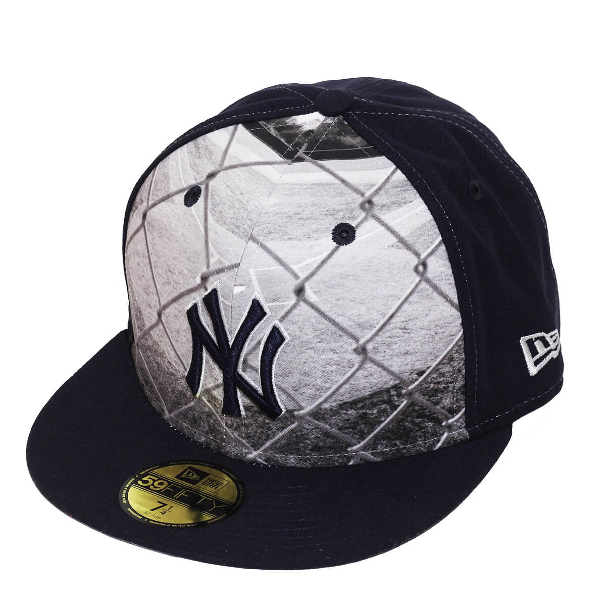 Boné New Era Aba Reta 5950 MLB NY Yankees Round Dway