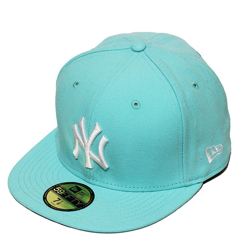 Boné New Era Aba Reta 5950 MLB NY Yankees Tint Fashion Verde - infantil
