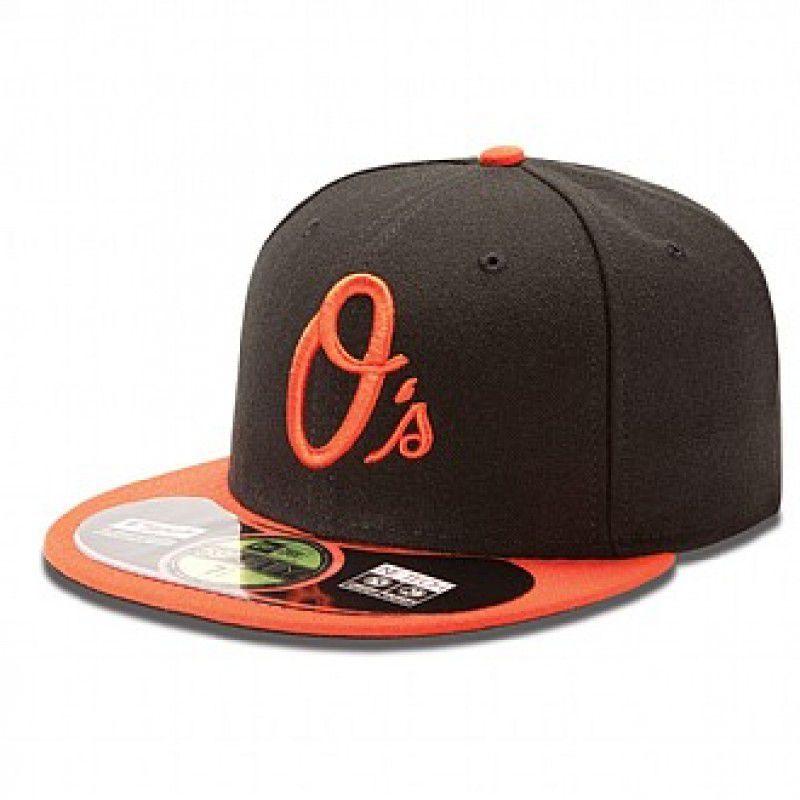 Boné New Era Aba Reta 5950 MLB Orioles On Field Alternate