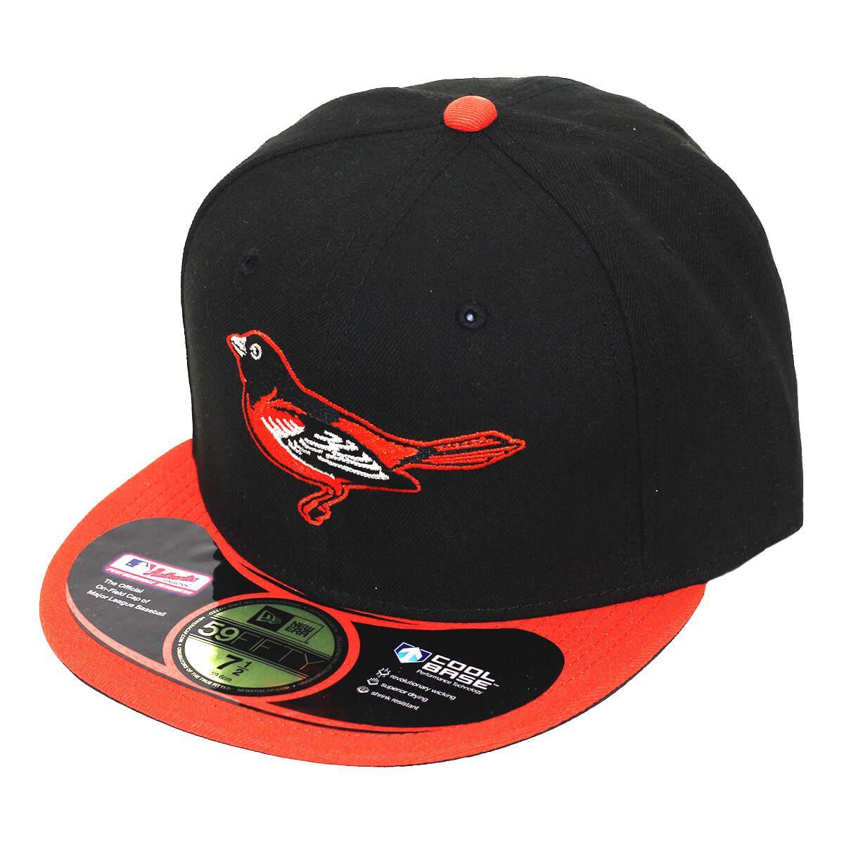 Boné New Era Aba Reta 5950 MLB Orioles On Field Home