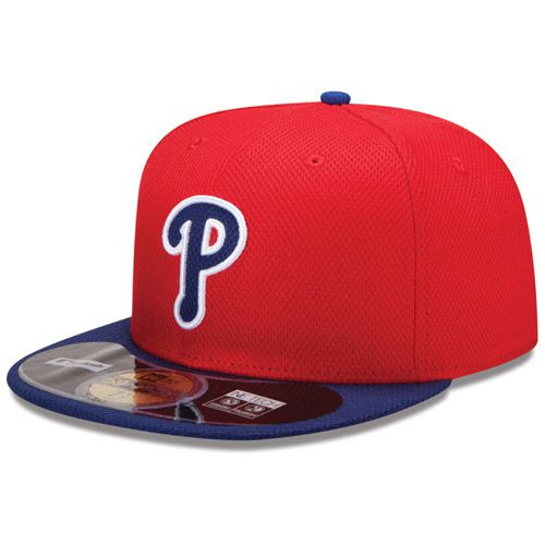 Boné New Era Aba Reta 5950 MLB Phillies Diamond Era