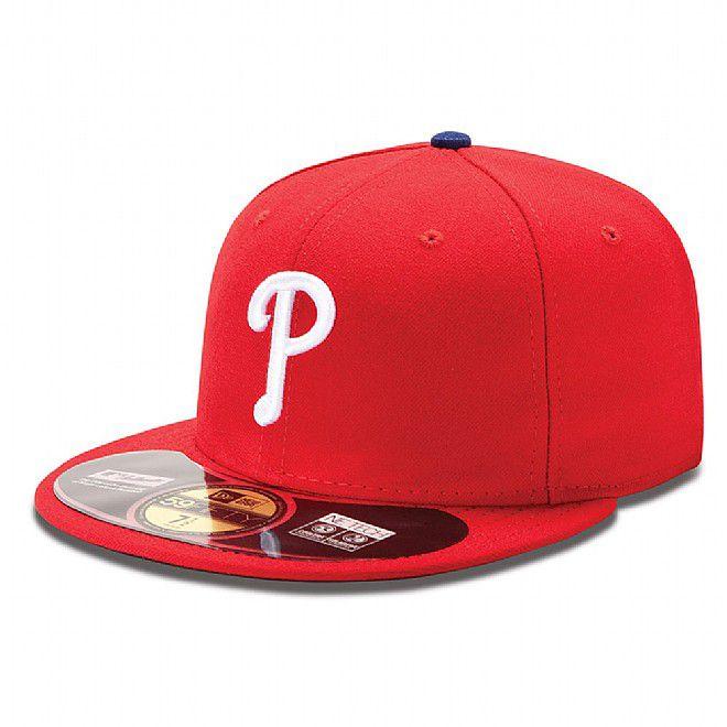 Boné New Era Aba Reta 5950 MLB Phillies On Field Game