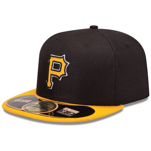 Boné New Era Aba Reta 5950 MLB Pirates Diamond Era