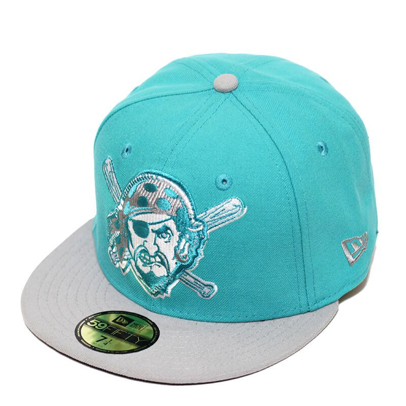 Boné New Era Aba Reta 5950 MLB Pirates Edge Verde