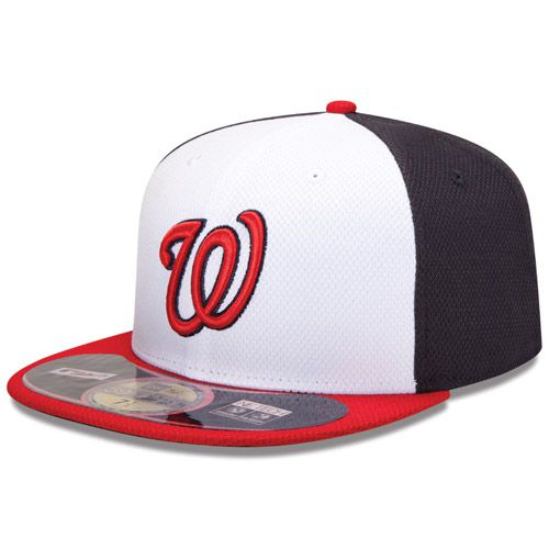 Boné New Era Aba Reta 5950 MLB Washington Diamond Era