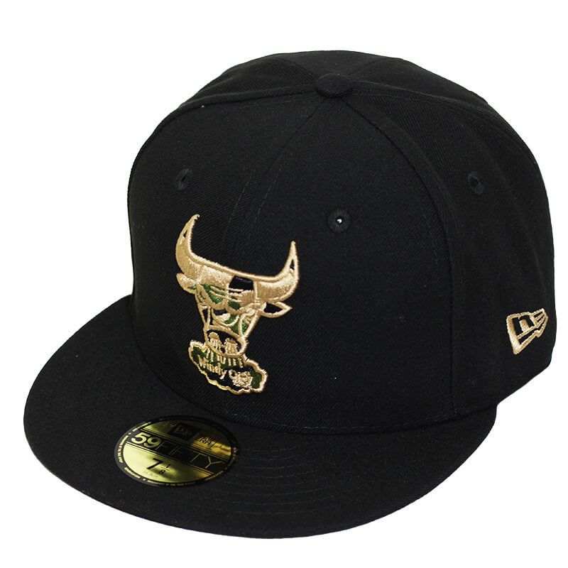 Boné New Era Aba Reta 5950 NBA Bulls Camo Fill