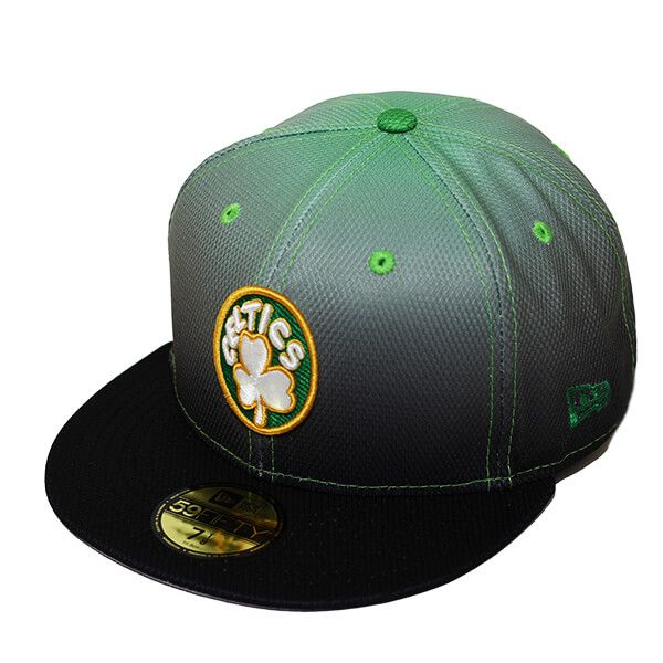 Boné New Era Aba Reta 5950 NBA Celtics Gradation