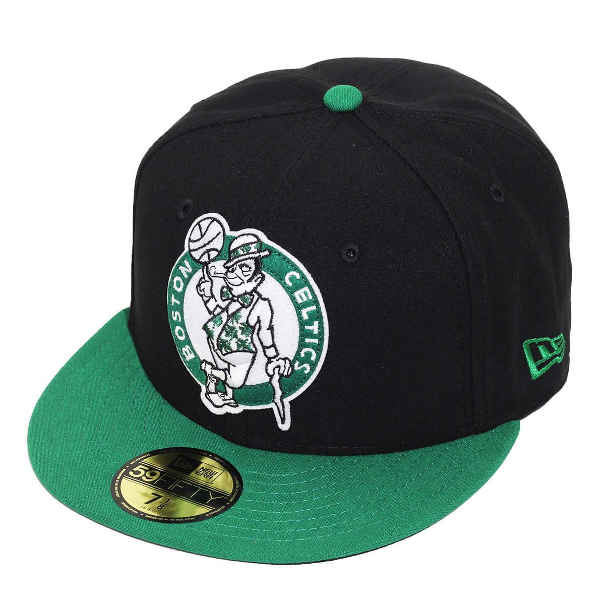 Boné New Era Aba Reta 5950 NBA Celtics OS Felt