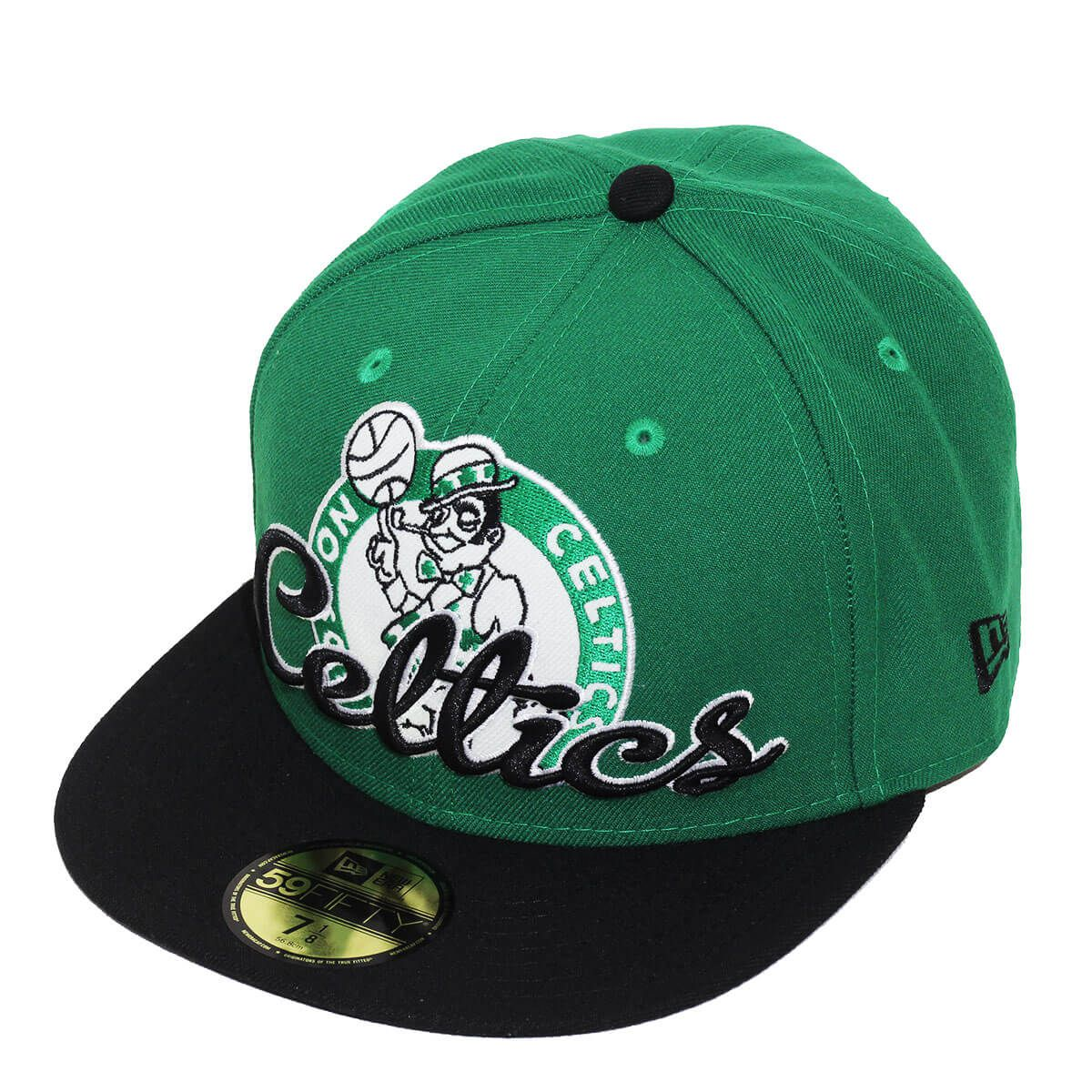 Boné New Era Aba Reta 5950 NBA Celtics Script Down