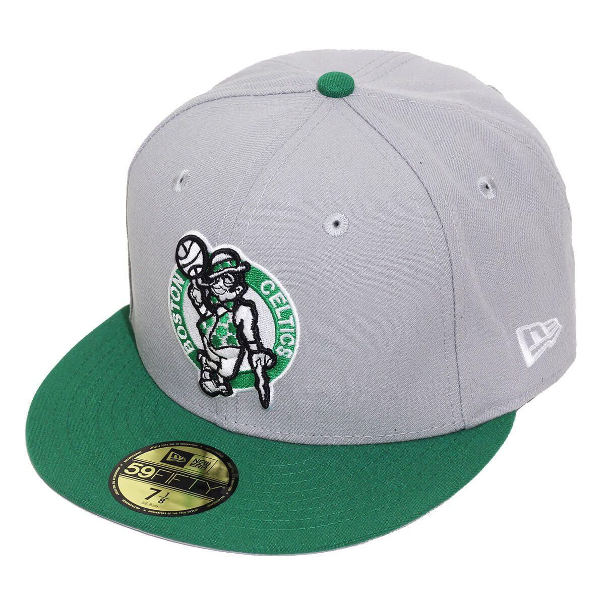 Boné New Era Aba Reta 5950 NBA Celtics Tone Basic