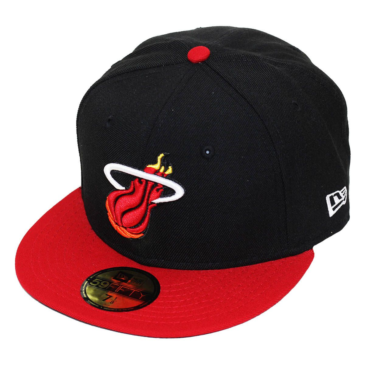 Boné New Era Aba Reta 5950 NBA Heat 2Tone Basic