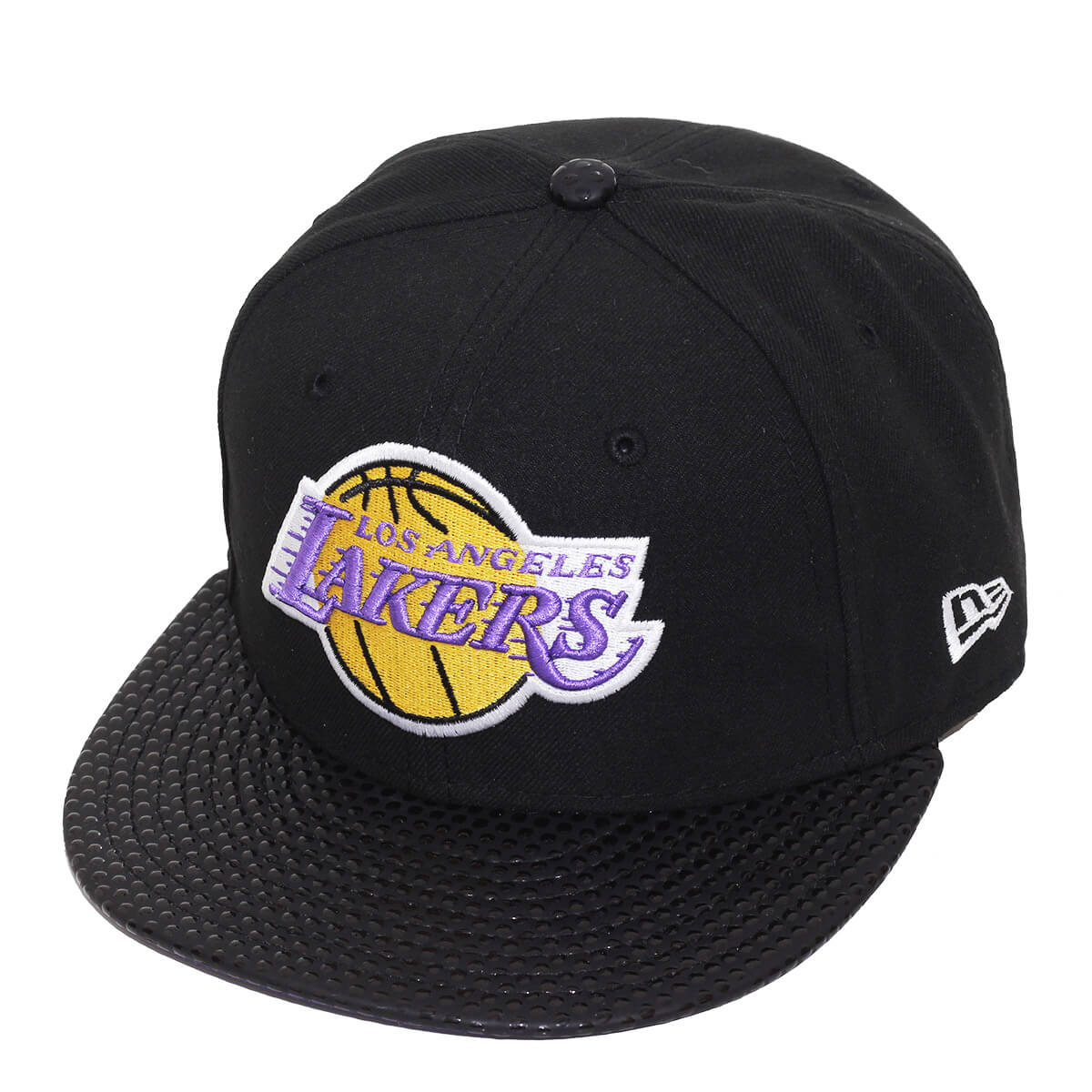 Boné New Era Aba Reta 5950 NBA Lakers Tonal Visor