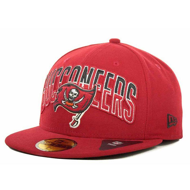 Boné New Era Aba Reta 5950 NFL Buccaneers Draft Team