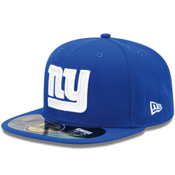 Boné New Era Aba Reta 5950 NFL Giants Game
