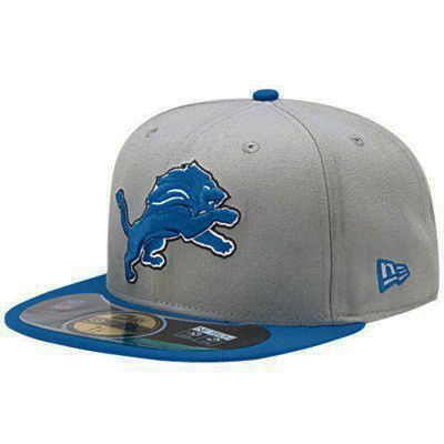 Boné New Era Aba Reta 5950 NFL Lions Game