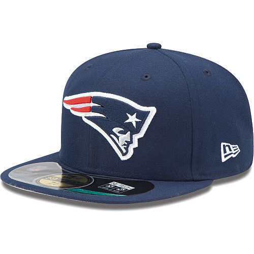 Boné New Era Aba Reta 5950 NFL Patriots Game