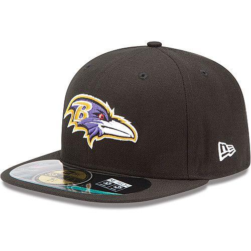 Boné New Era Aba Reta 5950 NFL Ravens Game