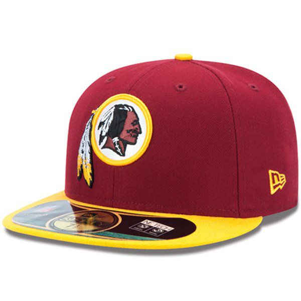Boné New Era Aba Reta 5950 NFL Redskins Game