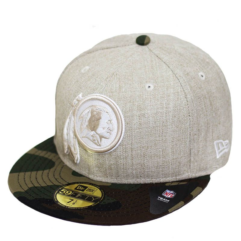 Boné New Era Aba Reta 5950 NFL Redskins Heather Camo