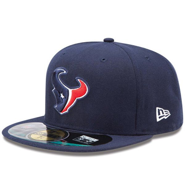 Boné New Era Aba Reta 5950 NFL Texans Game
