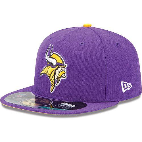 Boné New Era Aba Reta 5950 NFL Vikings Game