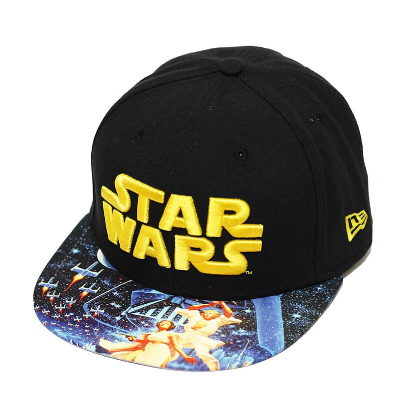 Boné New Era Aba Reta 5950 Star Wars Viza Print Empire