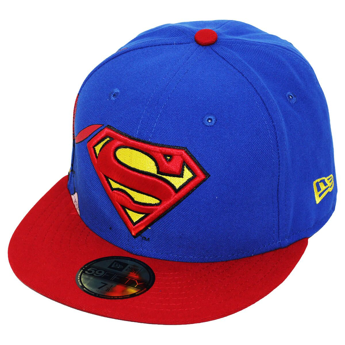 Boné New Era Aba Reta 5950 Superman CHRC 119