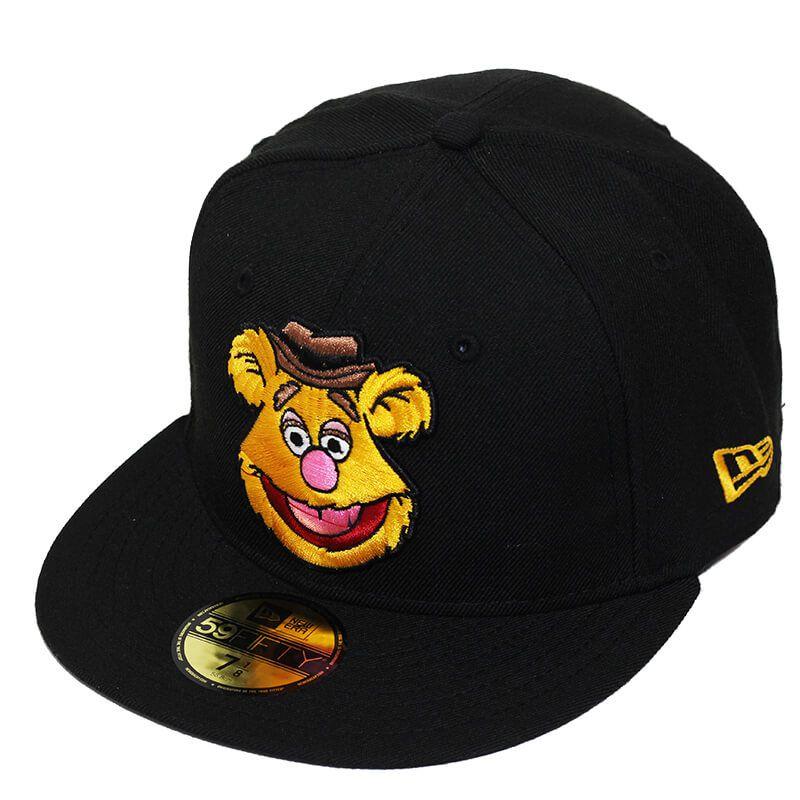 Boné New Era Aba Reta 5950 The Muppets Fozzie