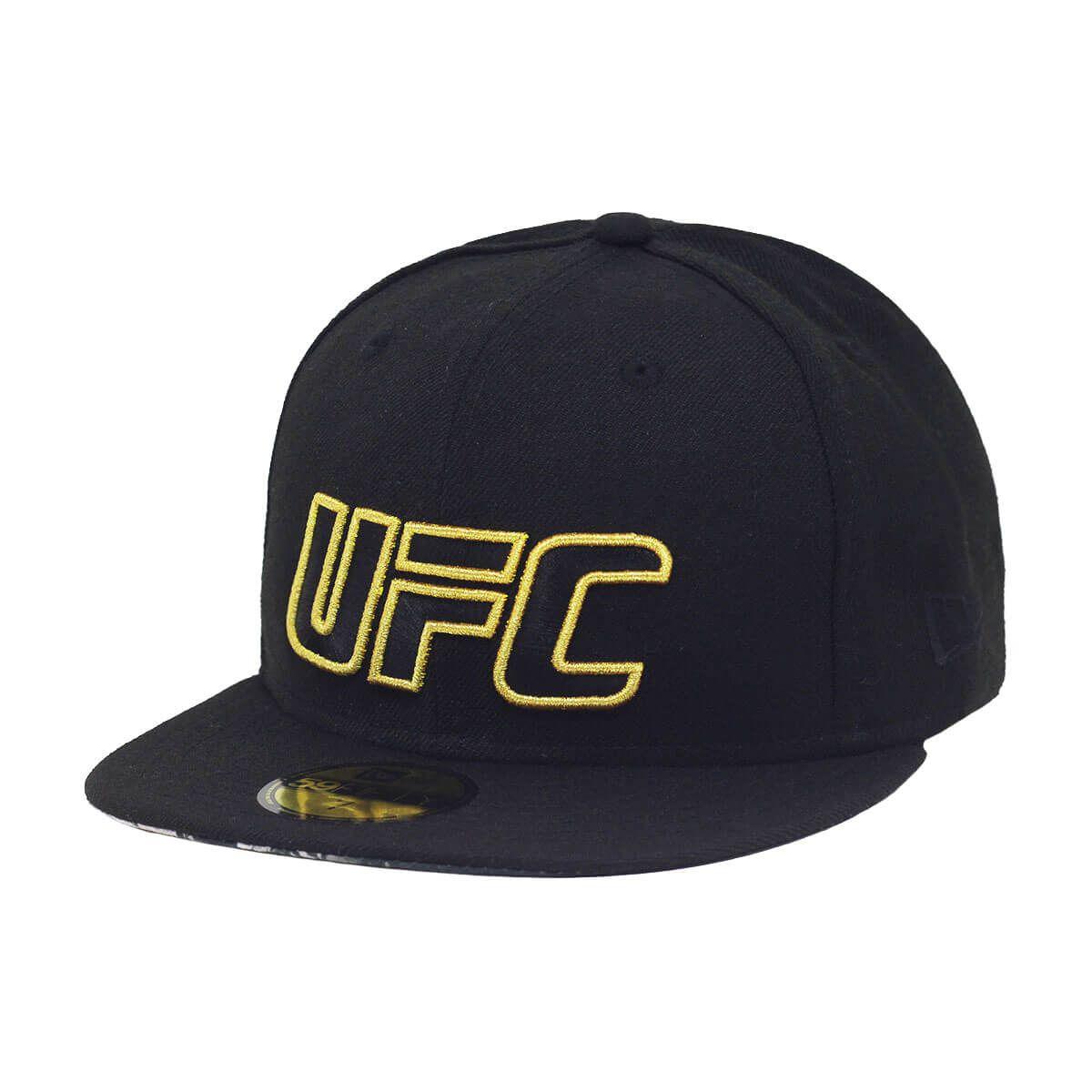 Boné New Era Aba Reta 5950 UFC Champions Victory