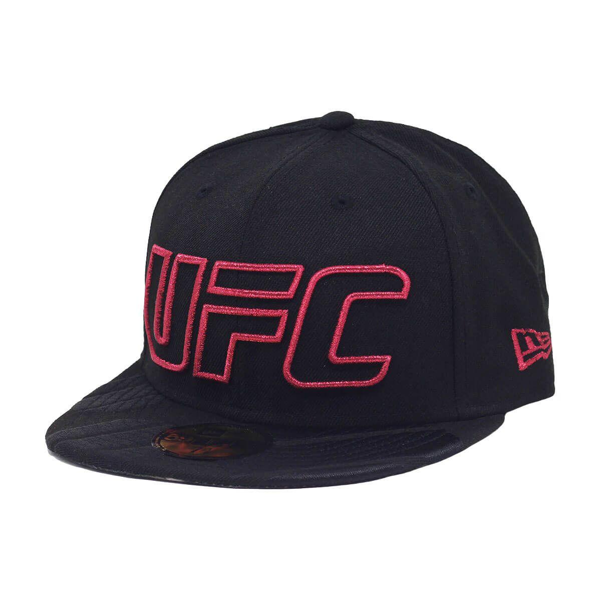 Boné New Era Aba Reta 5950 UFC Outline