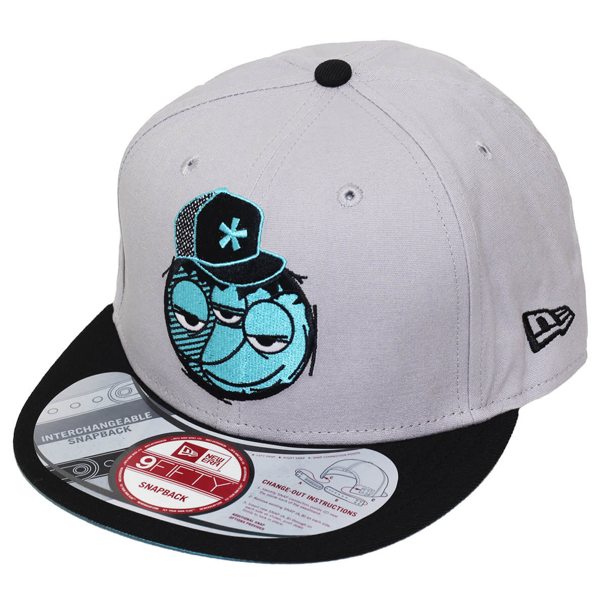 Boné New Era Aba Reta 950 SN Brand Blue Face
