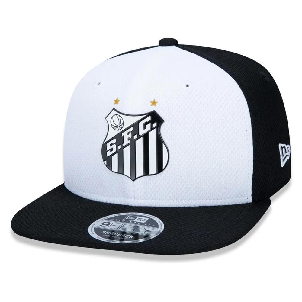 Boné New Era Aba Reta 950 SN Futebol Santos OF Diamond