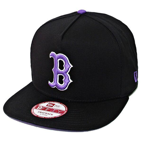 Boné New Era Aba Reta 950 SN MLB Boston Flip Up Preto