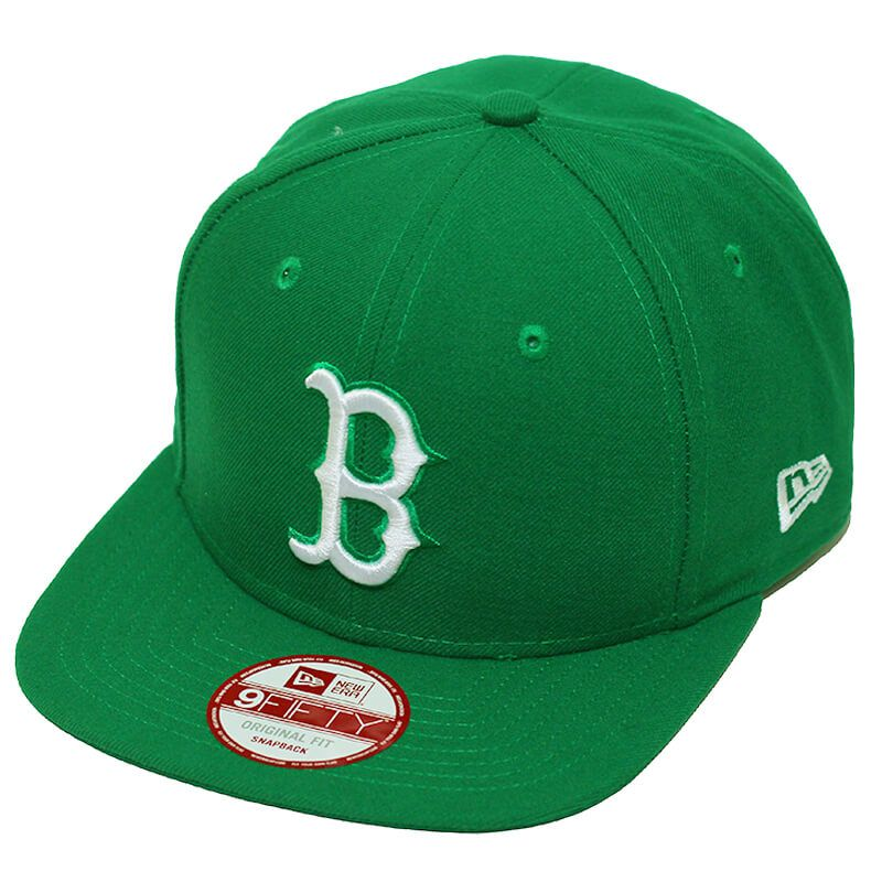 Boné New Era Aba Reta 950 SN MLB Boston OF Colors Verde