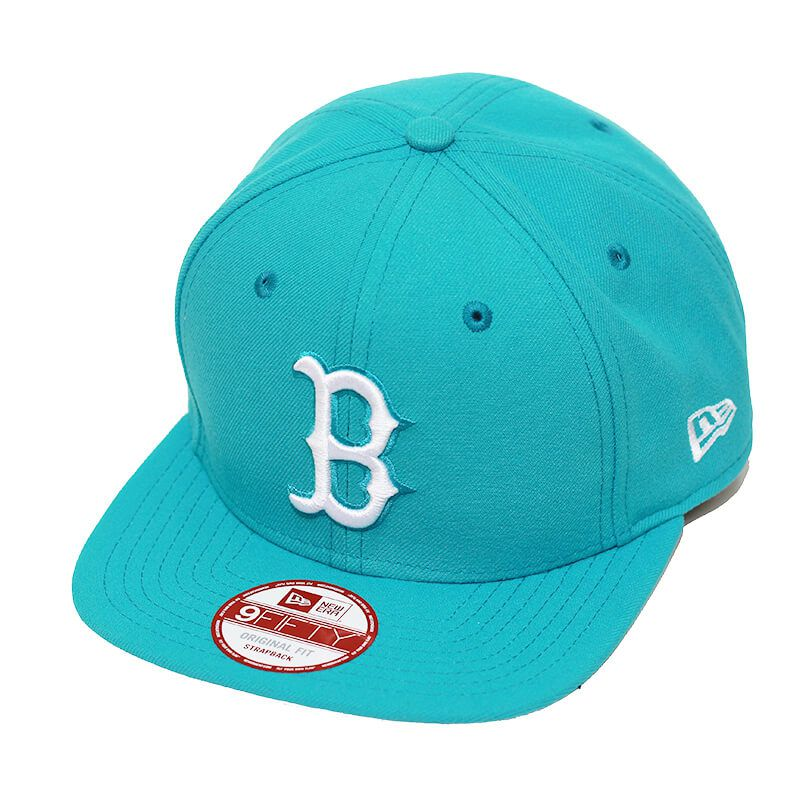 Boné New Era Aba Reta 950 SN MLB Boston OF Colors Verde Claro