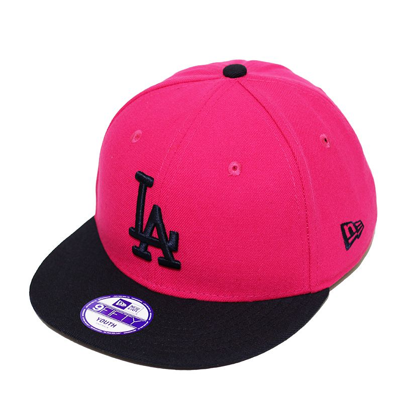 Boné New Era Aba Reta 950 SN MLB Los Angeles 2Tone Infantil Rosa