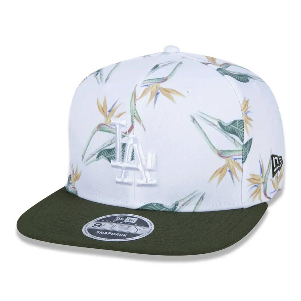 Boné New Era Aba Reta 950 SN MLB Los Angeles OF Botany Full