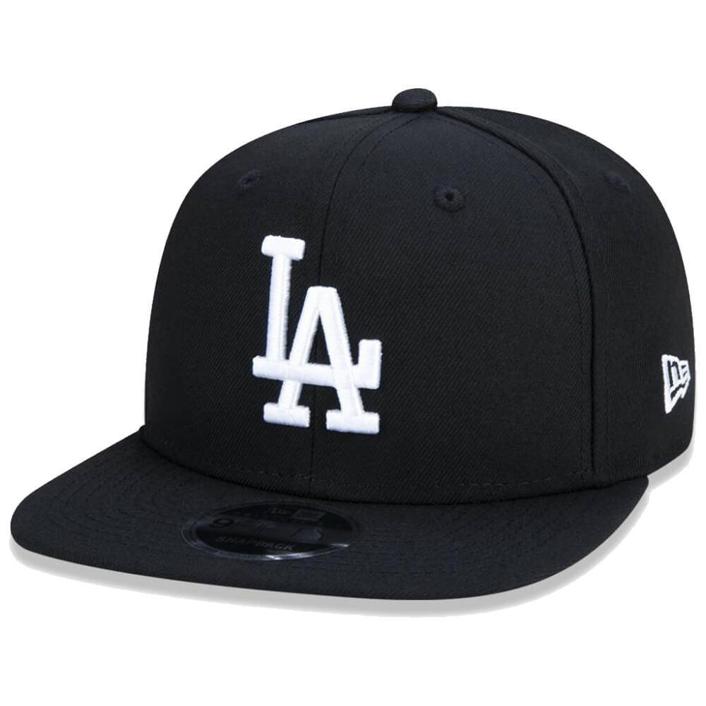 Boné New Era Aba Reta 950 SN MLB Los Angeles OF Colors Preto