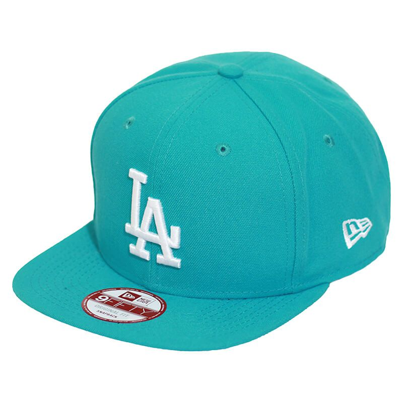 Boné New Era Aba Reta 950 SN MLB Los Angeles OF Colors Verde Claro