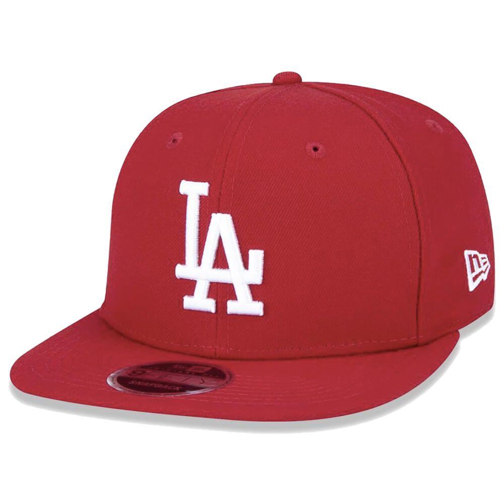 Boné New Era Aba Reta 950 SN MLB Los Angeles OF Colors Vermelho