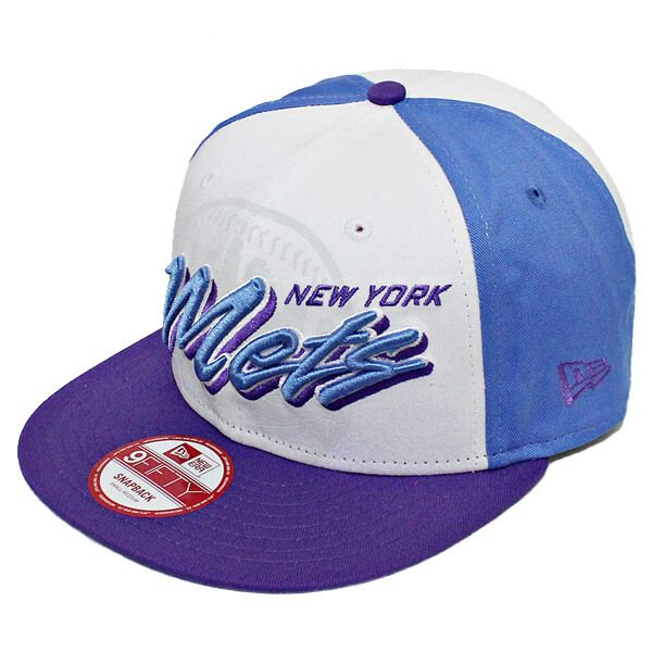 Boné New Era Aba Reta 950 SN MLB Mets Gamer Azul
