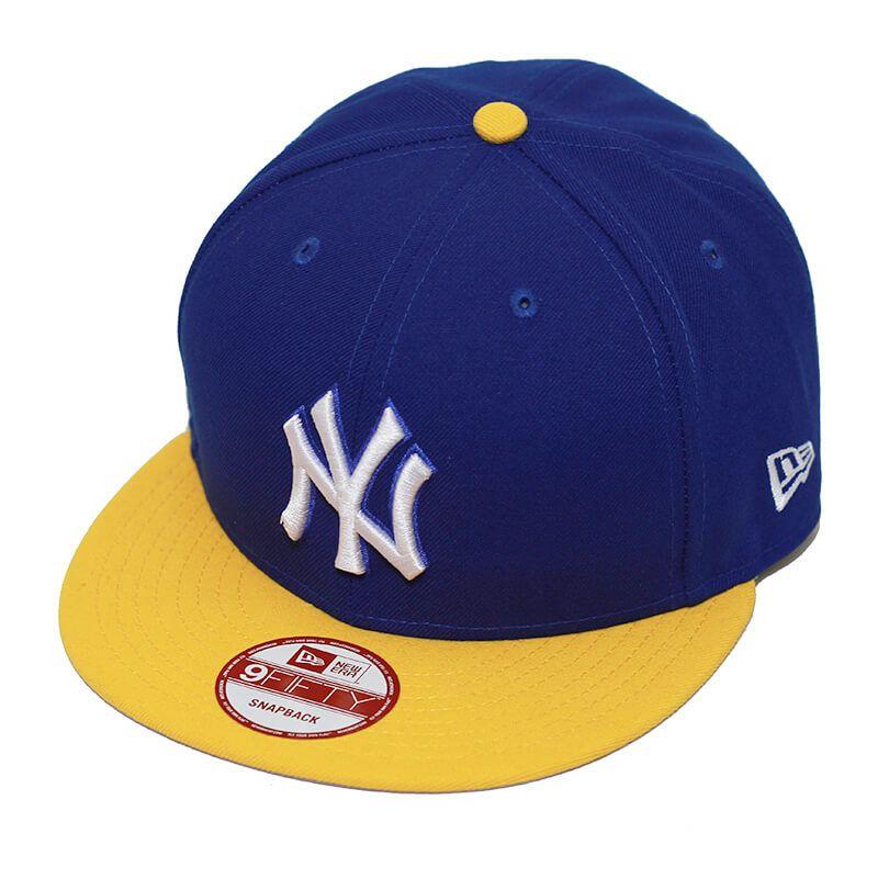 Boné New Era Aba Reta 950 SN MLB NY Yankees 2Tone League Azul