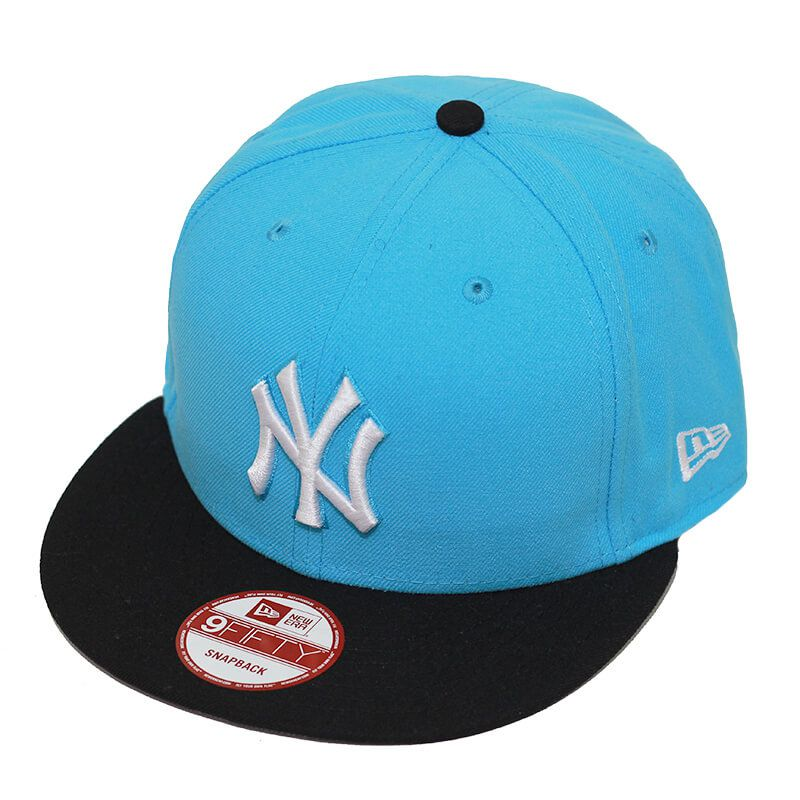 Boné New Era Aba Reta 950 SN MLB NY Yankees 2Tone League Azul Claro